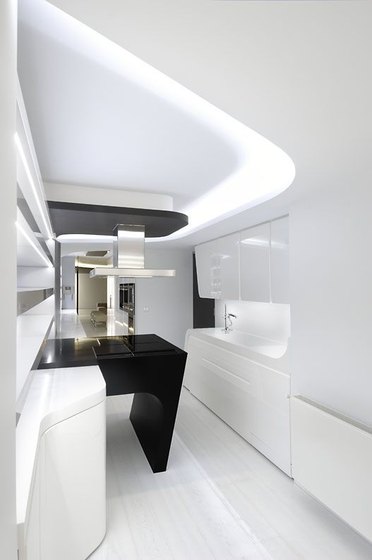 Check out these beautiful futuristic interior designs by A-Cero.  A-cero Ltd., architecture and town planning studio, is a company created in  1996 vowed to the integral development of architectural prjoects.