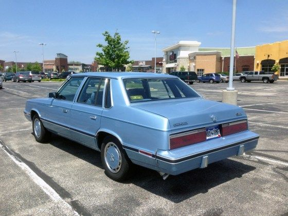 1983 Chrysler E Class Not Passing For Luxury With Images