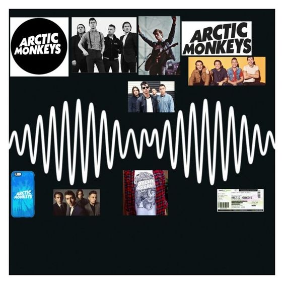 """Arctic Monkeys"" by official-sadiyyah on Polyvore featuring art"