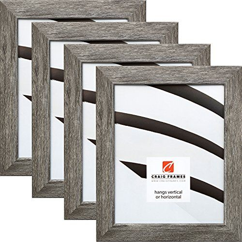 Craig Frames 26030 10 X 13 Inch Picture Frame Gray Barnwood Set Of 4 For Sale With Images Barn Wood Frames Craig Frames Wood Pallet Wall Art