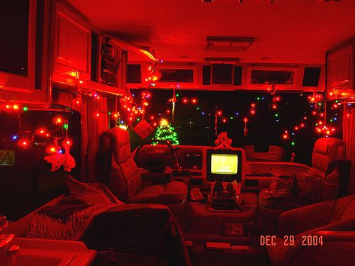 Holiday RV Interior You can always decorate anything for