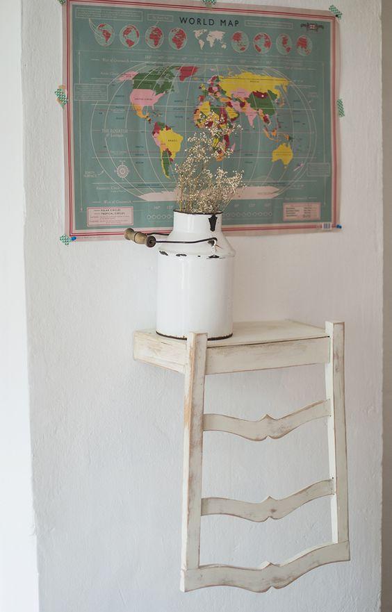 silla estanteria, brico and deco, Hadas y Cuscus