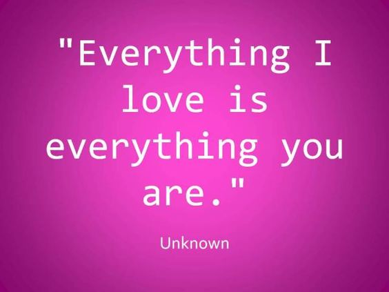 I love everything about you!  #Marriage #Love #Relationships