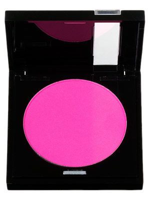 Make Up Forever Neon Pink 75 blush. 1/2 a tap on each cheek is all you need....and blend, blend, blend. So pretty, it's all you need besides concealer.