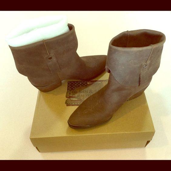 NEW - Ralph Lauren - Rafita Boots - Dark Brown  NEW - in box - Ralph Lauren - Rafita Boots - color: dark brown - size: 8  Short Western Boot. Fast shipping! Ralph Lauren Shoes