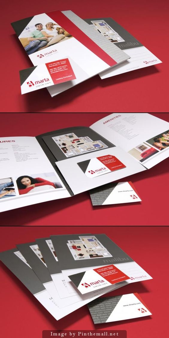 Apartment Brochure Design Interesting Design Decoration