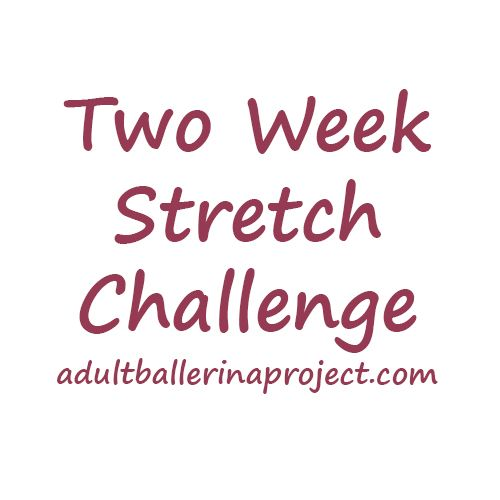Two-Week Stretch Challenge | Adult Ballerina Project