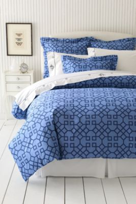 Percale Print Duvet Cover Or Sham From Lands End