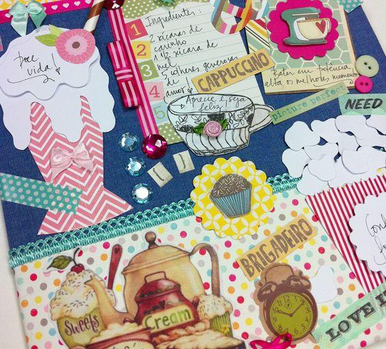Um Scrap diferenciado! by Chria Handmade Art www.chria.com.br