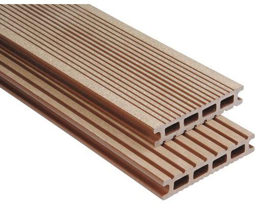 Konsta Wpc Terrassendiele Futura Braun Geburstet 26x145x4500 Mm Bei Hornbach Kaufen Terrassendielen Wpc Terrassendielen Diele