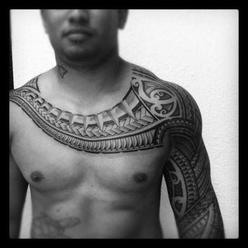 Sleeve and chest tattoo tattoos pinterest beautiful for Turkish mafia tattoos