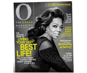 LivingSocial: 1-Year Oprah Magazine Subscription $5