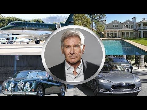 Harrison Ford Biography House Cars Jet Family