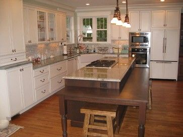 downtown raleigh kitchen remodel - southern charm