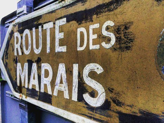 Ici c est pas la #route66 mais une autre celle des #marais #decouvrir la #Normandie autrement c est sympa aussi le #Calvados by petitfutecaencalvados