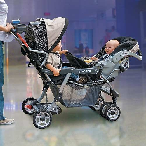 dual strollers for infant and toddler   stroller,graco triple ...
