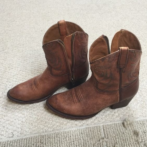 Ariat Ankle Boots | Brown Boots and Cowboys