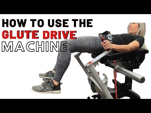 Hip Thrust Machine How To Use The Nautilus Glute Drive Youtube Glutes Hip Thrust Workout Videos