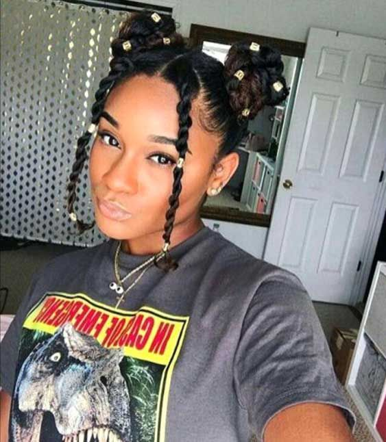 10 Inspo Worthy Protective Summer Hairstyle Trends For Natural Hair Eceme Girls Natural Hairstyles Protective Hairstyles For Natural Hair Natural Hair Styles