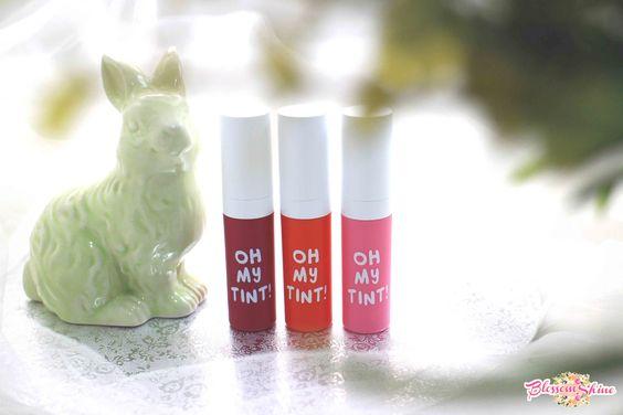 oh! my tint, liptint zoya cosmetic terdiri dari 3 varian warna