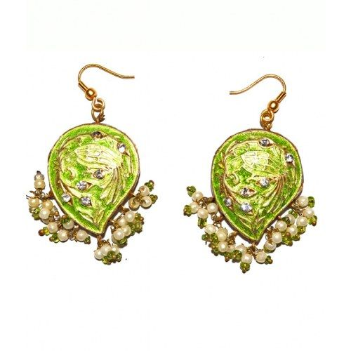 Indirang Florance Lac Earrings for Women - Online Shopping for Earrings by Indirang