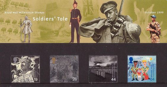 British Stamps 1999 - Millennium Series. The Soldiers' Tale - (1999)