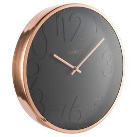 Buy Acctim Copper & Black Wall Clock from our Clocks range - Tesco.com