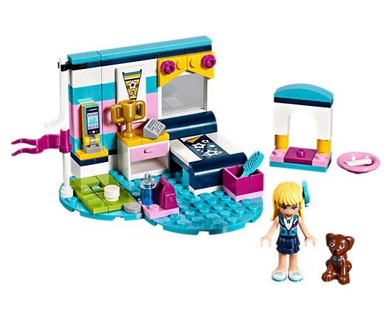 Stephanie S Bedroom 41328 Friends Buy Online At The Official Lego Shop Us Lego Friends Lego Friends Sets Educational Toys For Kids