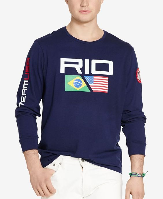 Polo Ralph Lauren Team Usa Long-Sleeve T-Shirt