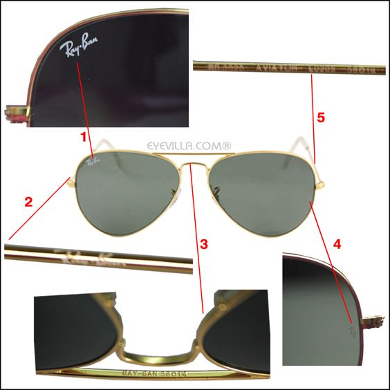 how to know original ray ban glass  how to spot original ray ban sunglasses