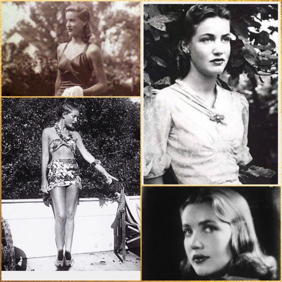 I find Little Edie Beale's story fascinating & she was simply gorgeous when she was young!