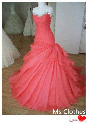 Cheap Ball Gown Sweetheart Prom Dress, Evening Dress, Wedding ...