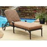 Found it at Wayfair - Floral Blossom Chaise Lounge with Cushion