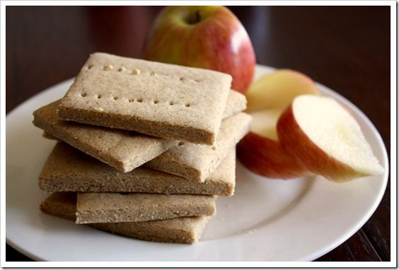 Gluten Free Graham Crackers (I remove the sugar and double the amount of honey, so 1/2 c total)