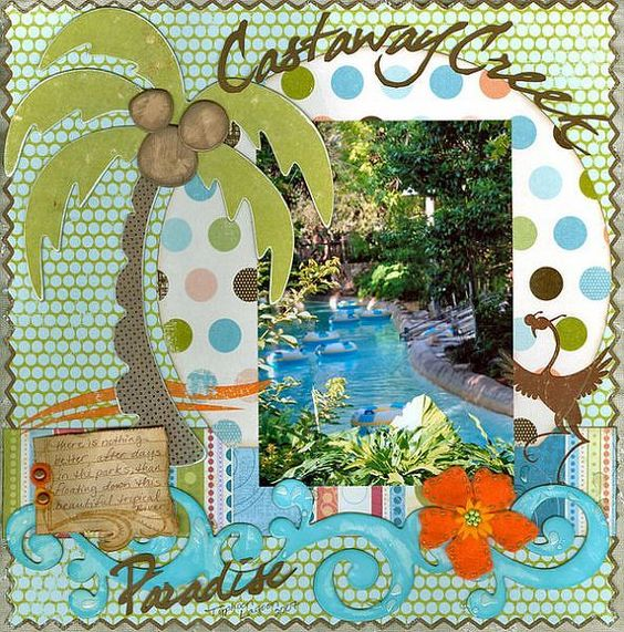 tropical disney layout