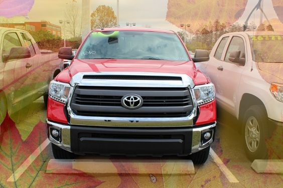 Take on autumn in the powerful new Toyota Tundra - the 2017 model is perfect for all of your adventures!