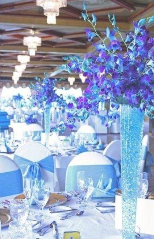 31 Trendy Wedding Purple Turquoise Blue Orchids Blue Wedding