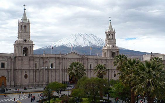 Arequipa in Southern Peru is a great way to discover the Andean culture of Peru