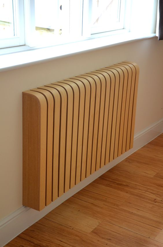 A cool radiator cover!: