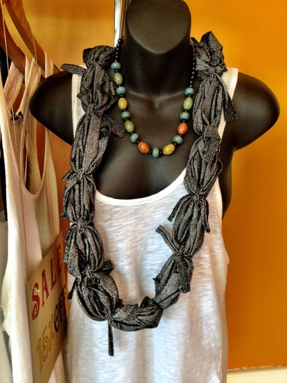 T-shirt scarfs @ Jun E Caniel Boutique