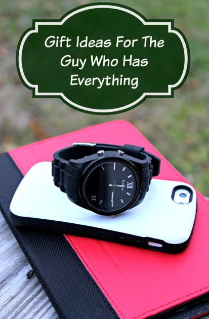 Gift Ideas For The Guy Who Has Everything  http://makobiscribe.com/hard-to-buy-for-guys/