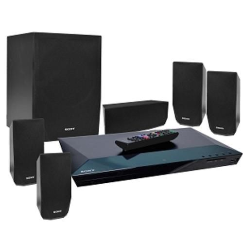 Sony BDV-E2100 5.1 Channel 1000W 1080p Upscaling 3D Blu-ray/DVD Home Theater System w/HDMI WiFi NFC Bluetooth & USB