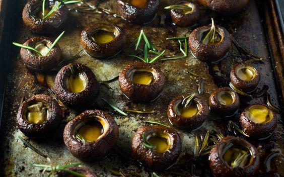 Rosemary Oven Roasted Mushrooms 2