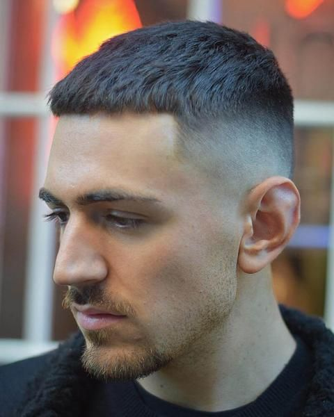Crop Haircut For Men What Is It How To Style Crop Hair Mens Haircuts Short Crop Haircut