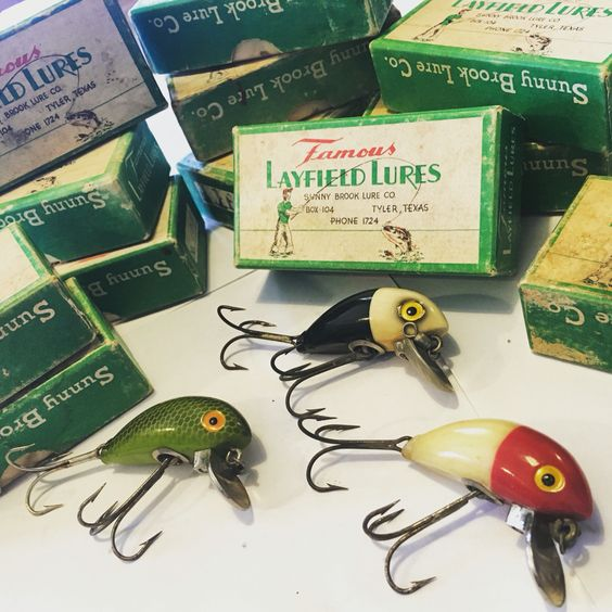 sunnybrook fishing company lures - famous layfield lures. patented, Fishing Bait