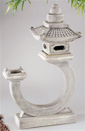 Curved Great Pagoda Lantern LO-3672