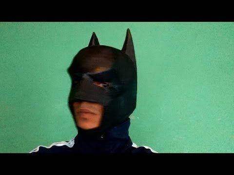 Como Fazer Mascara Batman Cavaleiro Das Trevas Dark Knight