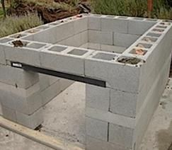 How to build an outdoor kitchen.