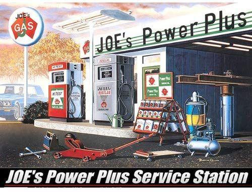 cheap price most popular reasonable price Amazon.com: Academy Joe's Power Plus Service Station: Toys ...