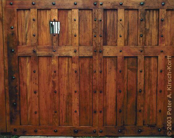 Wooden Gates, Garden Gates And Style On Pinterest